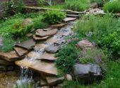 Декоративные элементы  для интерьера сада