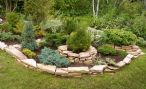 Композиции из камней в дизайне сада