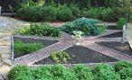 Оформление декоративного огорода в саду своими руками