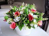 Создание цветочных композиций для интерьера