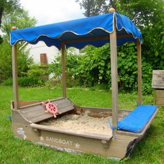 Скамейка и стол для детской площадки своими руками